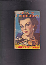 VINTAGE U.K.CRIME THRILLER.HARDCOVER IN JACKET.QUEEN OF CROOKDOM.NICE!