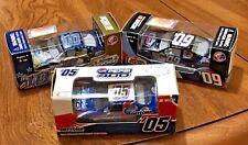 NASCAR Daytona  400,2005 500 Speedway Track,2009,2010 1/64 3 Die Cast Cars