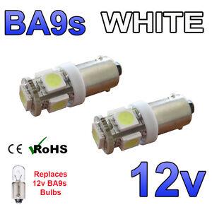 Transit Mk7 06-12 Blanc Canbus LED Toit Marqueur Léger 5 SMD Ampoules 233 T4W