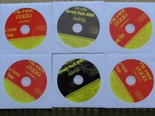6 CDG LOT CLASSIC ROCK KARAOKE - BLONDIE,VAN HALEN,GREEN DAY,U2,BEATLES CD+G