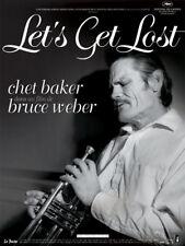 Affiche Pliée 120x160cm LET'S GET LOST (2008) Chet Baker - Documentaire TBE