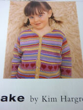 Knitting Pattern For Striped Cardigan  In Rowan Cotton Glace,-Sizes 22-30in