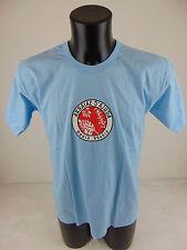 USATO BRISA DO MAR M T-Shirt Celeste Top Light Blue Bahia Brasil Arraial