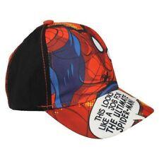 Accessoires casquettes de base-ball rouge pour garçon de 2 à 16 ans
