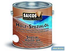 Saicos Holz-Spezialöl Bangkirai 0113 2,5 L Terrassendielen Öl Bangkiraiöl Ipeöl