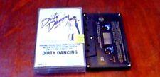 DIRTY DANCING OST 1st CAN CASSETTE PATRICK SWAYZE BILL MEDLEY JENNIFER WARNES