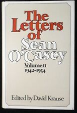The Letters of Sean O'Casey,Volume I1: 1942-54 HB/DJ 1st ed Illusts FINE/VG+