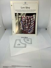 Love Ring ~ Quilts & Block, Best-Loved Quilt sewing patterns & templates