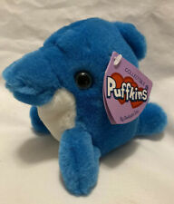 "VERY RARE Puffkins "" SPLASH ""  Blue Dolphin NWT"