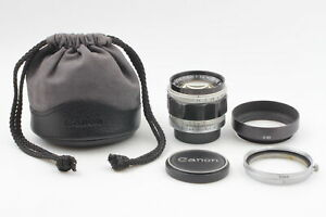 [CLA'd Almost MINT] Canon 50mm f/1.4 Lens LTM L39 Leica Screw Mount From JAPAN