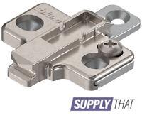 Blum Mounting Plate 173L8130 Clip Cruciform 3 mm steel screw-on,