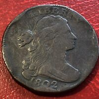 1802 Draped Bust Large Cent Better Grade  Rare #13617