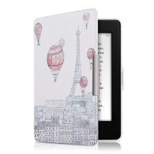 kwmobile Flip Tasche für Amazon Kindle Paperwhite Eiffelturm Ballon Kunstleder
