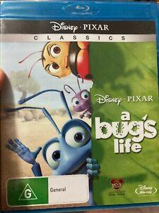 A Bug's Life NEW/sealed BLU RAY (1998 Disney Pixar animated kids / family movie)