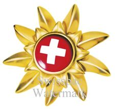 Switzerland Swiss Edelweiss Cross Schweiz sticker decal car auto laptop label