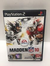 PlayStation 2 EA Sports NFL Madden 10 Game Complete Clean