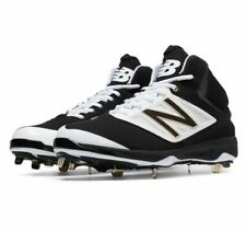 NEW Men s New Balance Mid-Cut 4040v3 Metal Cleat Black White M4040BW3 Sz 16  2E 333b2087364