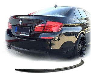 für BMW F10 Spoiler M5 SLIM Heckspoiler Abrisskante Kofferraum Aileron Becquet
