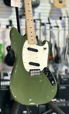 Fender Mustang Guitar Offset Series Maple Olive New Old Stock + Free Shipping
