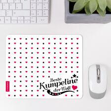 """JUNIWORDS Mauspad Mousepad """"Beste Kumpeline"""" ver. Motive Geburtstag Geschenk"""