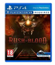 Until Dawn: Rush of Blood  VR (PlayStation 4)