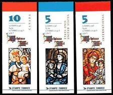 CANADA MNH 1997 CHRISTMAS BOOKLET SET COMPLETE