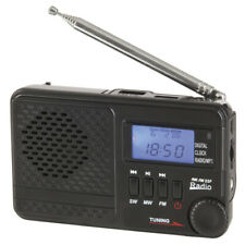 Portable AM/FM/SW Rechargeable Radio with MP3 Supports USB flash drive&Micro SD