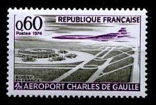 Charles-de-Gaulle-Flughafen. 1W. Frankreich 1974