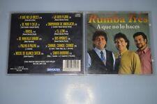 Rumba tres - A que no lo haces?. CD-Album