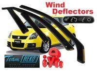 HATCHBACK RHD Wind deflectors 3.pc  HEKO 17272 HYUNDAI VELOSTER  2011
