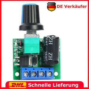 Pwm Motor Drehzahlregler Modul 5A 90W Dc 5V-35V Spannungsregler Schalter DE