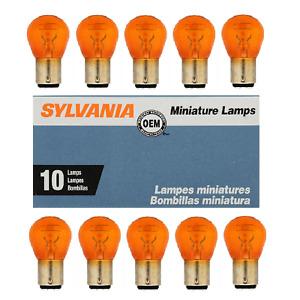 Sylvania 1157A Amber Bulb - Pack of 10 Bulbs
