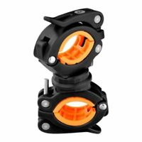 360 Degree Cycling Bike Bicycle Flashlight Torch Mount Front Light Holder B X1V8