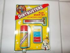 Vintage Toy Shave Set Play Shaving Kit Dirtbusters NOS Sealed Bright 1980's
