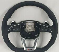 Audi RSQ8 Q8 SQ8 Q7  flat bottom Steering wheel, paddles, RS Mode