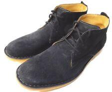 Hush Pupies Men's Desert II Chukka Boot US 11.5W Black NEW ONLY ONE HURRY