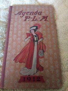 Agenda P L M 1912