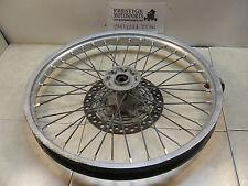 FRONT WHEEL! 89 suzuki rm250 rm 250 1989 1990? 125 rim tire spokes hub rotor mx