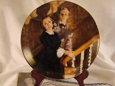 Melanie And Ashley Gone with the Wind Golden Anniversary Plate w/ Coa #Ma86