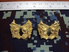 Military Police Airpolice RTAF Royal Thai Air Force COLLAR PINS BADGE สังกัด ทอ.