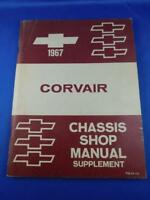 1967 CHEVROLET CORVAIR CHASSIS SHOP MANUAL SUPPLEMENT CAR REPAIR INSTRUCTION