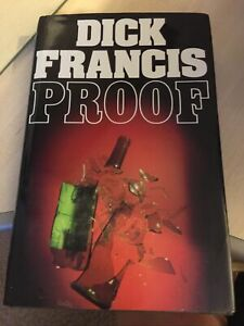 Dick Francis Hardback 1st Edition In Dustjacket Proof 1984 Signed