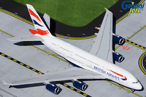 British Airways Airbus A380 G-XLED Gemini Jets GJBAW1932 Scale 1:400