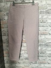 Pink Check Sz 12 BNWT RRP £35 Ladies Marks /& Spencer Wide Cropped Pants