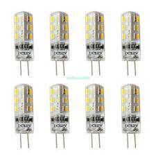 X8 G4 3W 3014 SMD Warm Weiße 24 LED 12V DC Schrankleuchte Lampe Mais Birne