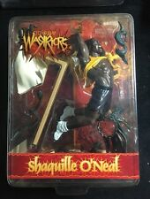 1999 SHAQUILLE O'NEAL SPORTS WARRIORS DISCONTINUED FIGURE NEW IN BOX