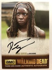 Walking Dead Season 4 PART 2 - GOLD Danai Gurira - Michonne AUTOGRAPH DG3