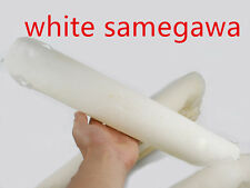 A+++ SUPER GRAIN SURFACE FRESH WHITE RAYSKIN STRINGRAY SAMEGAWA KATANA SWORD NEW