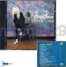 """PATTY PRAVO """"PAZZA IDEA"""" RARO CD 1990 NUOVE VERSIONI - FUORI CATALOGO"""