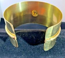Brilliantly Finished Hand Made SOLID Copper Cuff Bracelet, comfort fit. gift